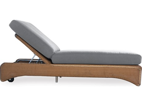 Lloyd Flanders Wicker Cushion Side Chaise