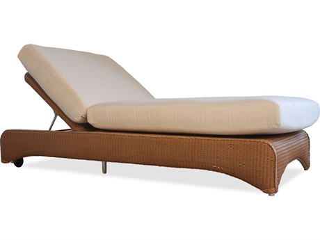 Lloyd Flanders Wicker Double Pool Chaise