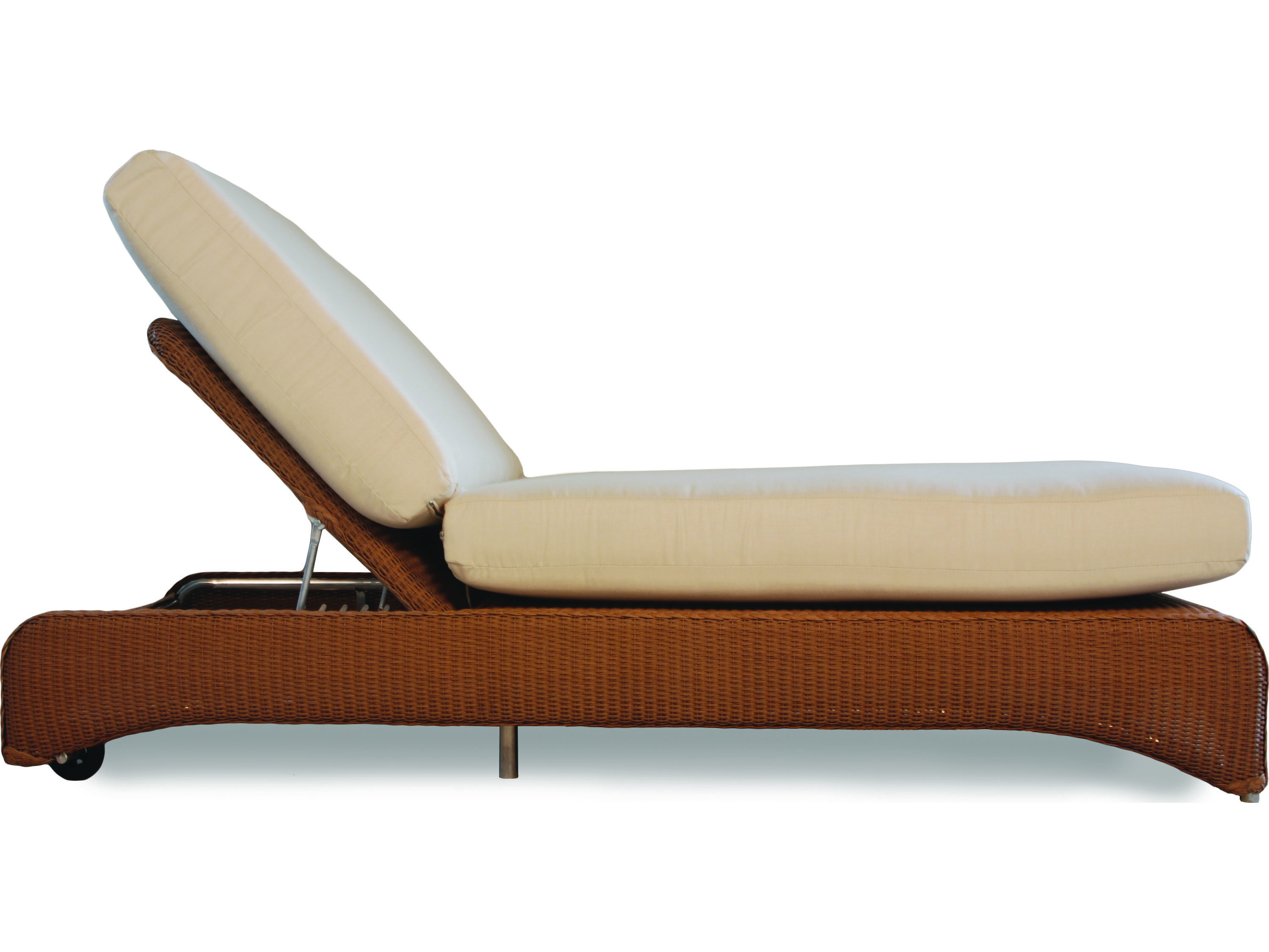 Lloyd flanders wicker double pool chaise 6040 for Chaise lounge accessories