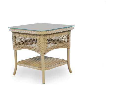 Lloyd Flanders Wicker 21'' Square End Table