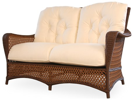 Lloyd Flanders Grand Traverse Wicker Loveseat PatioLiving