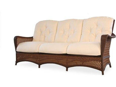 Lloyd Flanders Grand Traverse Wicker Sofa PatioLiving