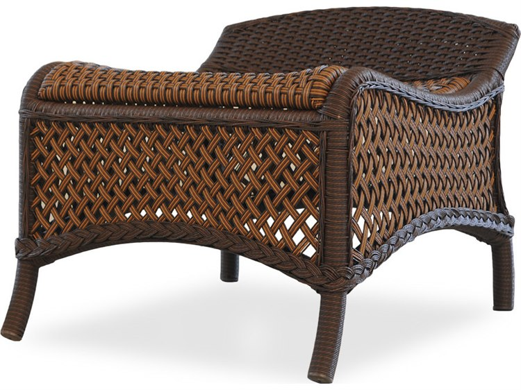 Lloyd Flanders Grand Traverse Wicker Ottoman