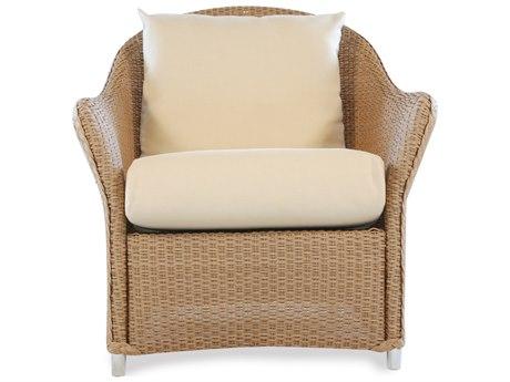 Lloyd Flanders Weekend Retreat Quick Ship Wicker Lounge Chair