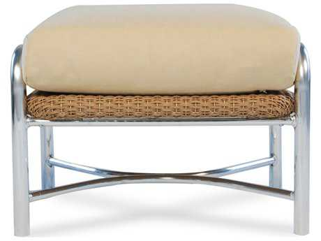 Lloyd Flanders Weekend Retreat Wicker Ottoman