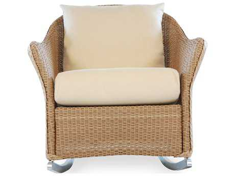 Lloyd Flanders Weekend Retreat Wicker Rocker Lounge Chair