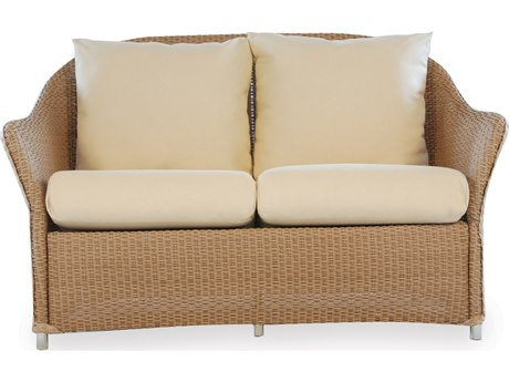 Lloyd Flanders Weekend Retreat Wicker Loveseat