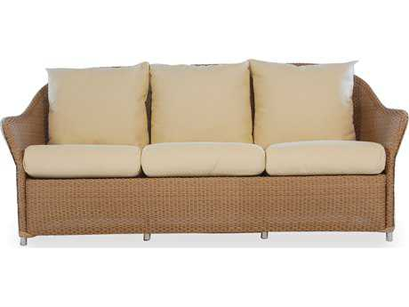 Lloyd Flanders Weekend Retreat Wicker Sofa