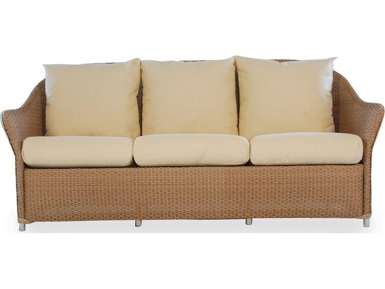 Lloyd Flanders Weekend Retreat Wicker Sofa