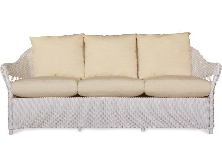 Lloyd Flanders Freeport Wicker Sofa