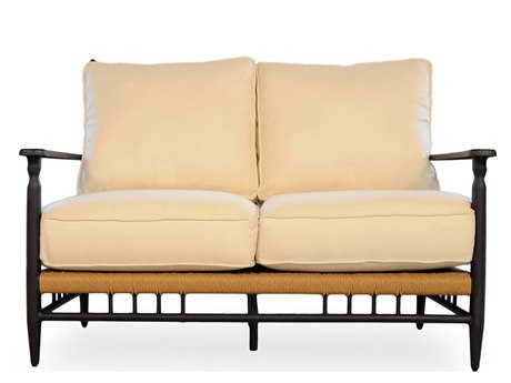 Lloyd Flanders Low Country Aluminum Loveseat