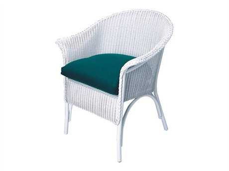 Lloyd Flanders Wicker Arm Dining Chair