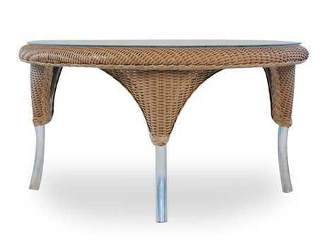 Lloyd Flanders Wicker 34'' Round Coffee Table