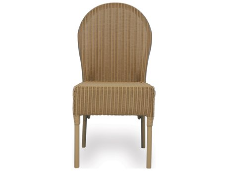 Lloyd Flanders Wicker Cushion Side Dining Chair