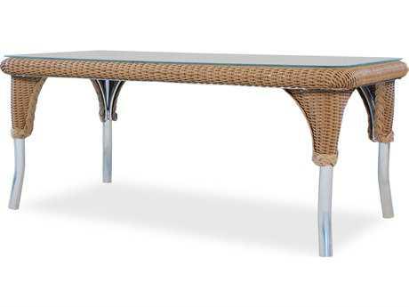 Lloyd Flanders Wicker 22'' x 42'' Rectangular Coffee Table