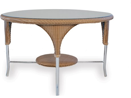 Lloyd Flanders Dining & Accessory Wicker 48''Wide Round Dining Table