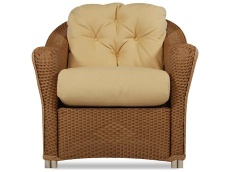 Lloyd Flanders Reflections Quick Ship Wicker No Button Back Lounge Chair