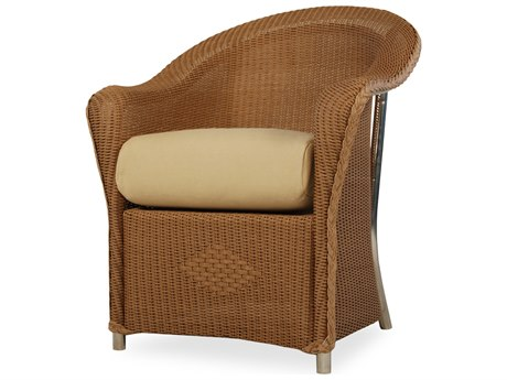 Lloyd Flanders Reflections Wicker Dining Arm Chair PatioLiving