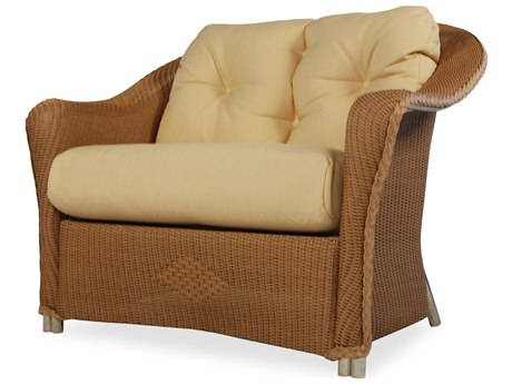 Lloyd Flanders Reflections Wicker Lounge Chair and Half
