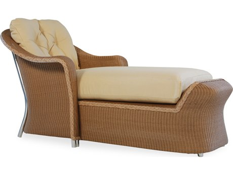 Lloyd Flanders Reflections Wicker Chaise Lounge PatioLiving