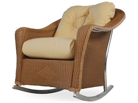 Lloyd Flanders Reflections Wicker Rocker Lounge Chair PatioLiving