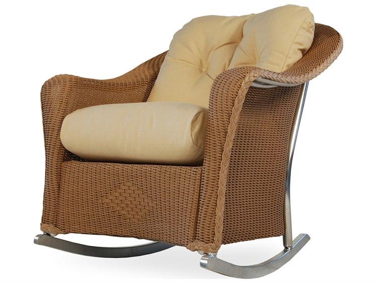 Lloyd Flanders Reflections Wicker Rocker Lounge Chair
