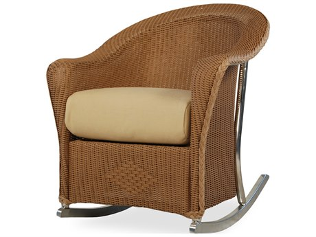 Lloyd Flanders Reflections Wicker Rocker Lounge Chair