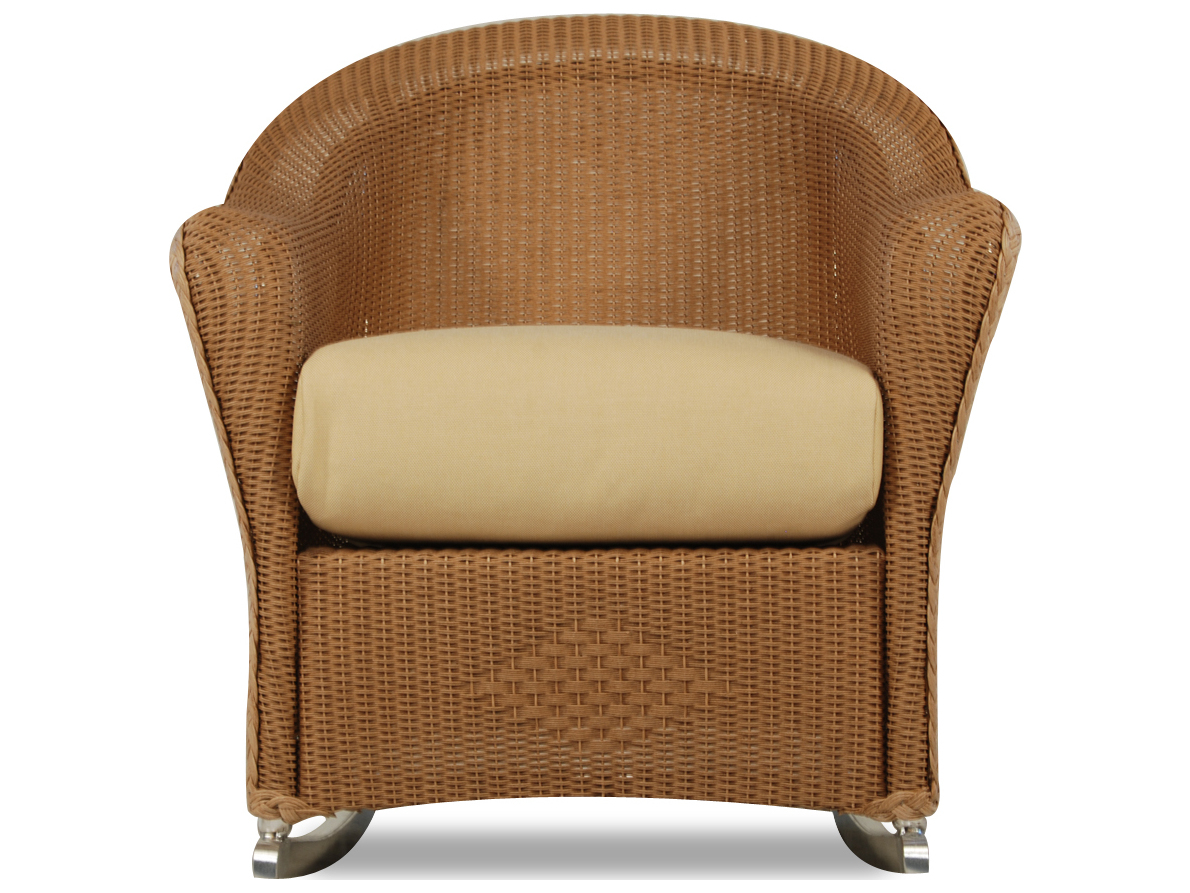 Lloyd Flanders Reflections Wicker Rocker Lounge Chair 9036