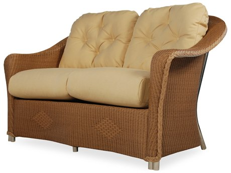 Lloyd Flanders Reflections Wicker Loveseat PatioLiving