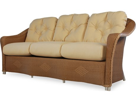 Lloyd Flanders Reflections Wicker Sofa PatioLiving