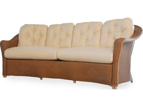 Lloyd Flanders Reflections Wicker Crescent Sofa PatioLiving