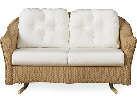 Lloyd Flanders Reflections Wicker Loveseat Glider