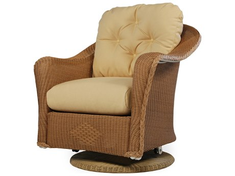 Lloyd Flanders Reflections Wicker Swivel Glider Lounge Chair