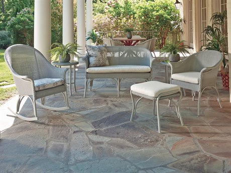 Lloyd Flanders All Seasons Wicker Lounge Set