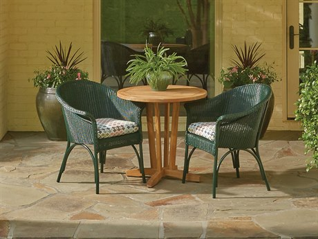 Lloyd Flanders All Seasons Wicker Bistro Set