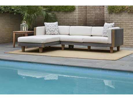 Lloyd Flanders Catalina Wicker Sectional Set