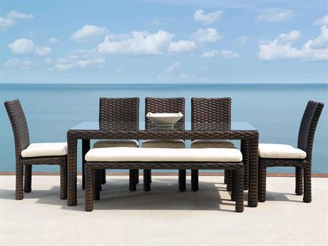 Lloyd Flanders Contempo Dining Set