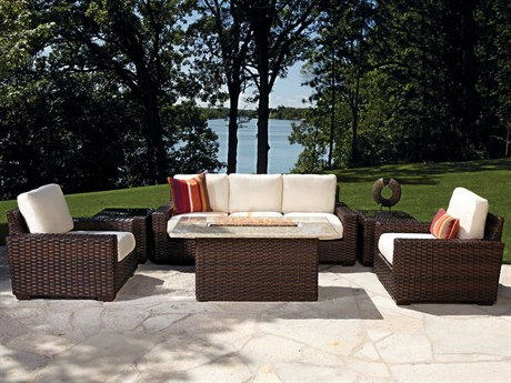 Lloyd Flanders Contempo Wicker Lounge Set LFCNTLG1