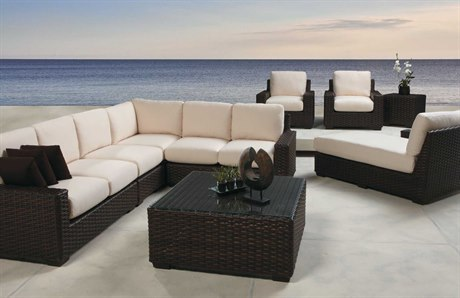 Lloyd Flanders Contempo Wicker Lounge Set LFCNTLGSCCT