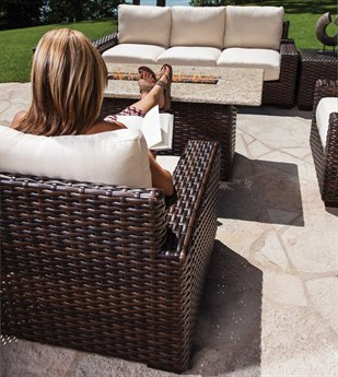 Lloyd Flanders Contempo Wicker Lounge Set