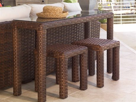 Lloyd Flanders Contempo Wicker Table Set
