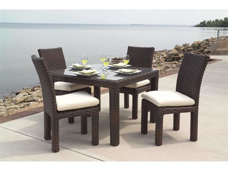 Lloyd Flanders Contempo Wicker Dining Set