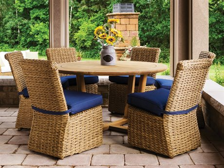Lloyd Flanders Cayman Wicker Dining Set