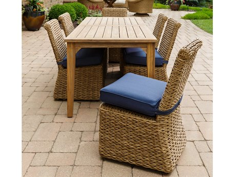 Lloyd Flanders Cayman Wicker Dining Set PatioLiving