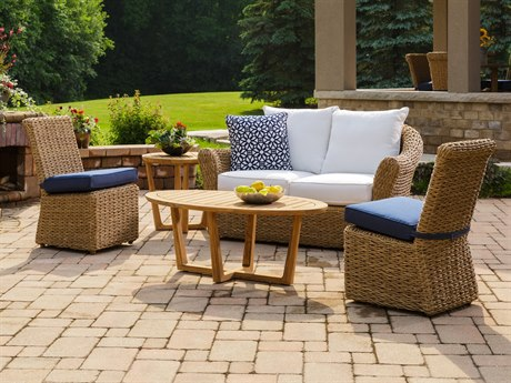 Lloyd Flanders Cayman Wicker Lounge Set