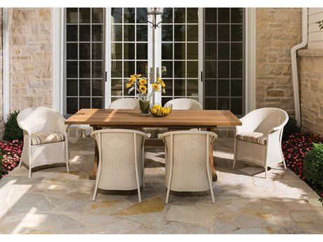 Lloyd Flanders Dining & Accessories Wicker Casual Patio Set