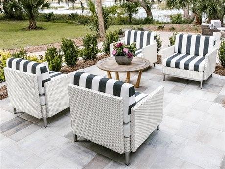 Lloyd Flanders Elements Wicker Lounge Set