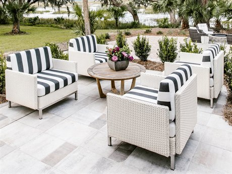 Lloyd Flanders Elements Wicker Lounge Set