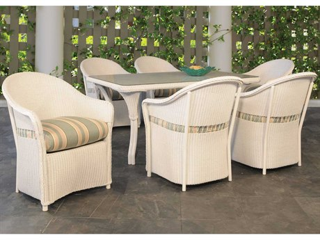 Lloyd Flanders Freeport Wicker Dining Set