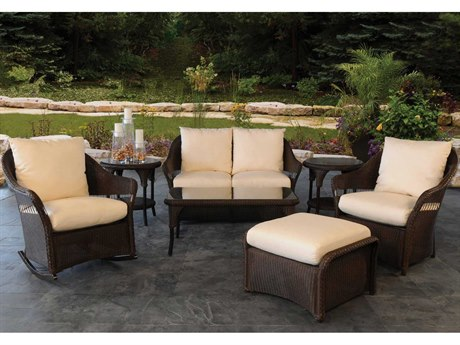 Lloyd Flanders Freeport Wicker Lounge Set LFFRELNGESET